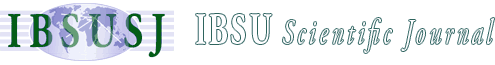 IBSU Scientific Journal